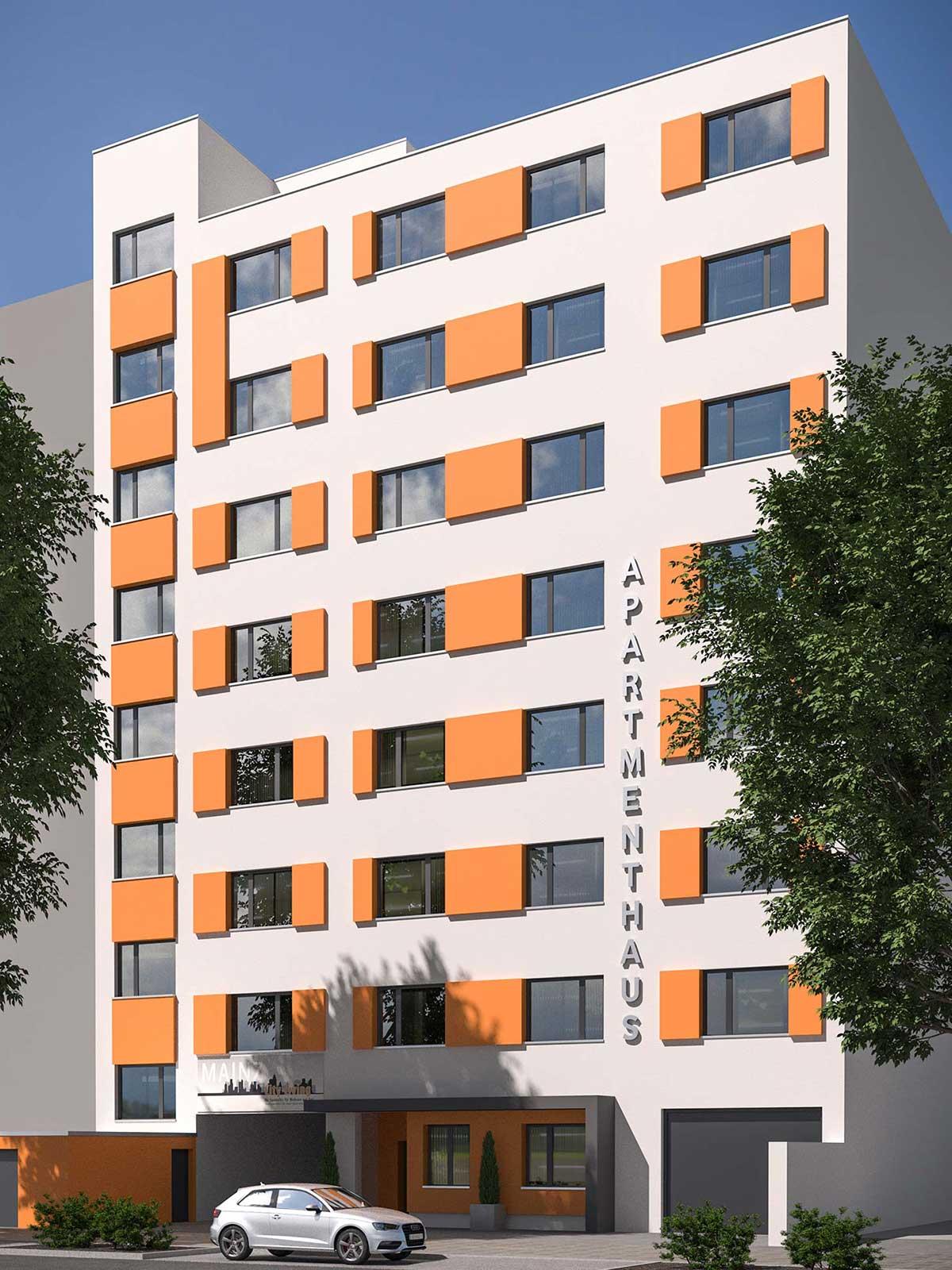Apartmenthaus Mainz, Rheinallee